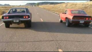 Montana Shootout  outlaw street racing 68 Charger VS 67 Firebird !!!!!