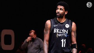 Kyrie Irving Puts Up 40 Points Against New York Knicks
