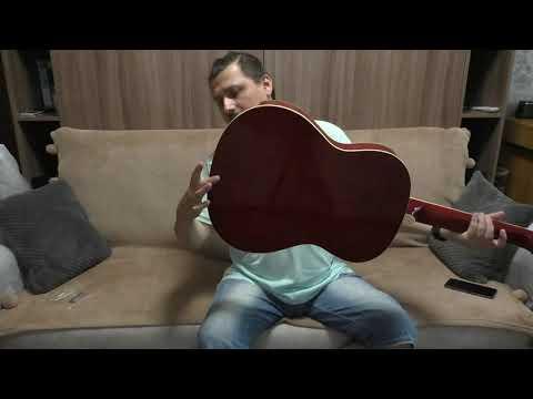 Покупка ультра-бюджетной гитары за $50. Гитара из Ашана)