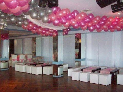 Como hacer guirnaldas con globos youtube - Como hacer decoracion con globos ...