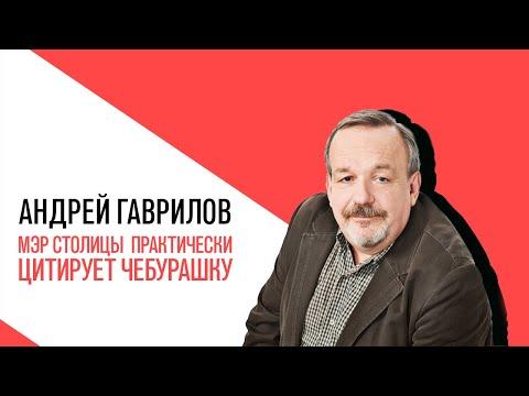 «Точка зрения» с Андреем Гавриловым, мэр столицы нашей страны практически цитирует Чебурашку