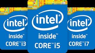 i3 vs i5 vs i7 vs GTX 1060