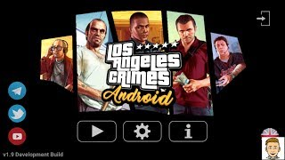 GTA  V mobile gameplay 60 MB ( Los angeles crime ) 2018