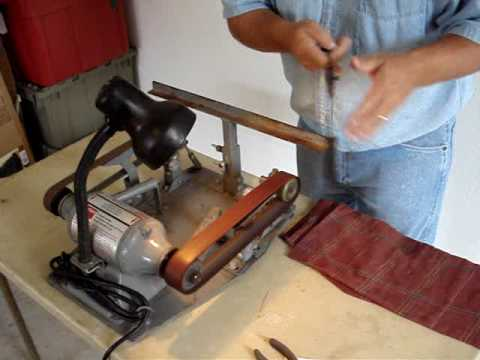 The Jackson Edge Knife Sharpening Machine Youtube