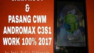 Cara Root dan Pasang CWM Andromax c3si WORK 2017