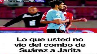 Gonzalo Jara es gay? Luis Suarez Vs Jarita - Uruguay Vs Chile Clasificatoria Brasil 2014