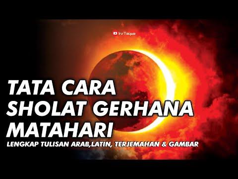 Begini Tata Cara Salat Gerhana Bulan Pada Rabu (31/1) besok akan terjadi gerhana bulan total di seba.