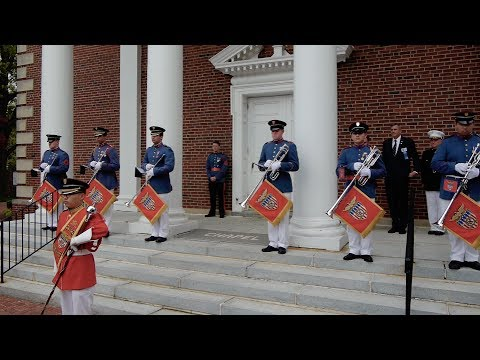 Valley Forge Military Academy Trumpeters: Alumni Weekend Chapel 2017