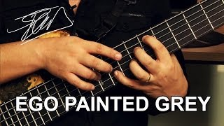Angra - Ego Painted Grey passo a passo Pt. 1 - Tapping - Felipe Andreoli
