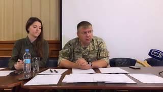 Трансляция пресс-конференции по ранению оператора в Кривом Роге   1kr.ua