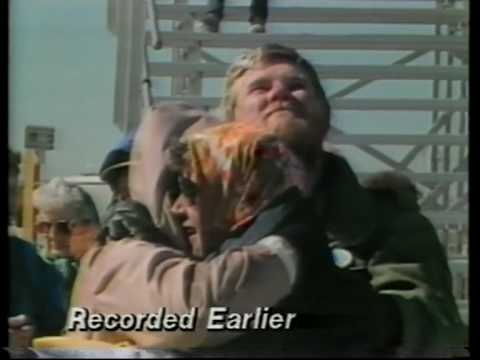 Challenger shuttle disaster - RAW UNCUT footage