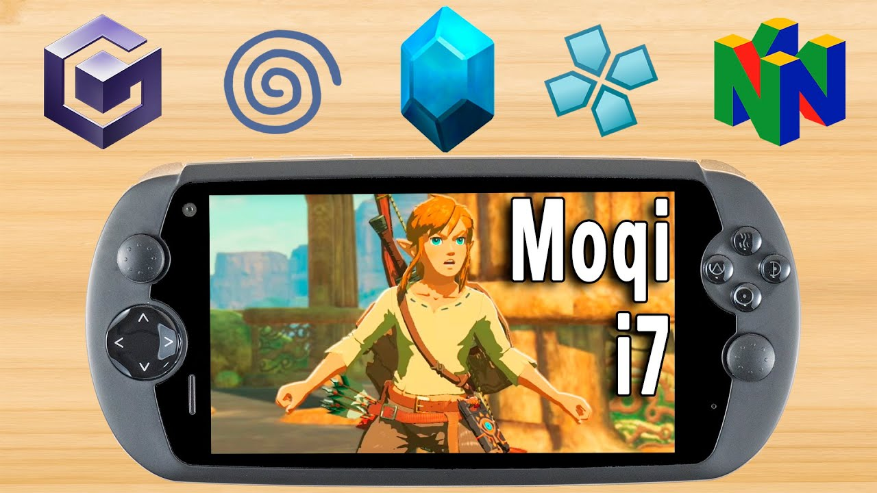 A Real Hidden Gem! - GC/DC/PSP/N64 Moqi i7