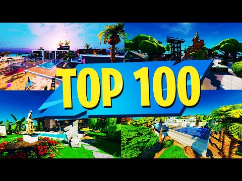 TOP 100 MOST FUN Creative Maps In Fortnite | Fortnite Creative Map CODES