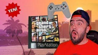 PLAYSTATION 1 DE KANLI EVE GITTIM ARABA ILE KAÇTILAR (GTA 5)