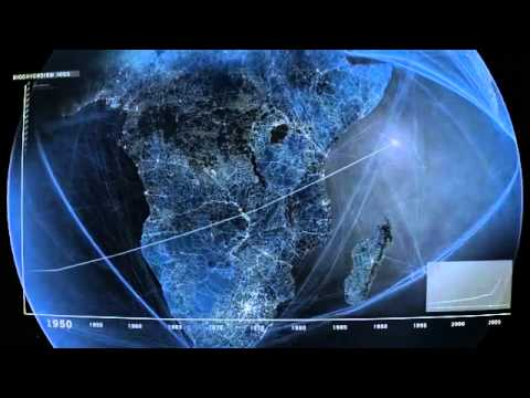 Incredible Video Shows All Roads, Air, and Shipping Routes on the Entire Planet