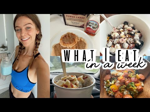 What I Eat In A Week | healthy, simple, using up whats in my fridge / pantry