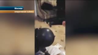 Видео задержания криминального авторитета Сутулого
