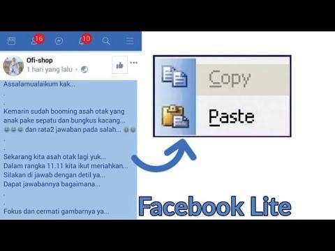 copy status facebook