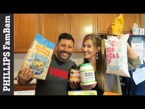 MASSIVE VONS GROCERY HAUL | SAFEWAY & RANDALL'S FAMILY JUST FOR U APP | PHILLIPS FamBam Grocery Haul