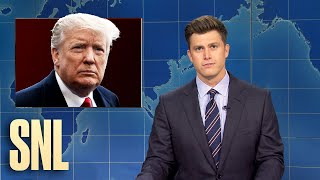 Weekend Update: Trump Tests Positive for Covid - SNL