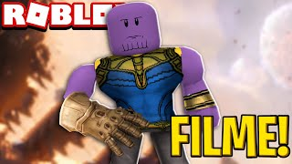 HOW TO TURN THE THANOS OF THE AVENGERS INTO THE ROBLOX!! (The movie)