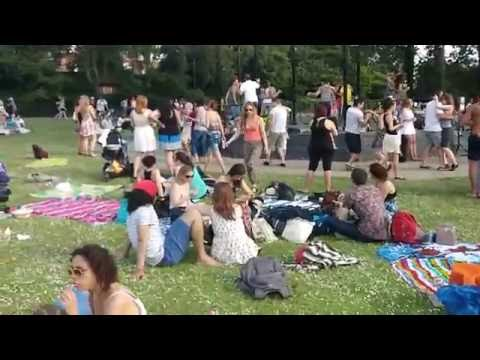 Outdoor Forro - Regent's Park Bandstand, London - Summer 2014