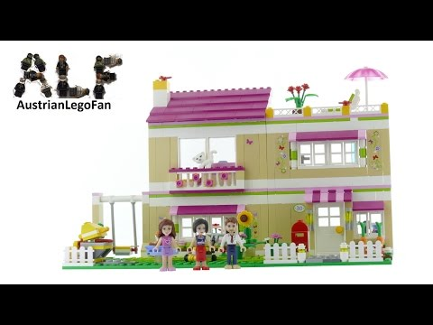 Lego Friends 3315 Olivia´s House - Lego Speed Build Review