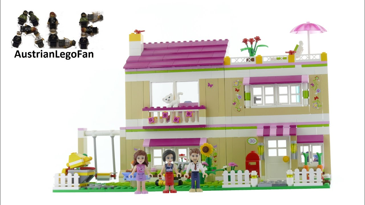 Lego Friends Olivia s House Lego Speed Build Review