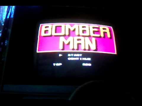 Обзор  игры   BOMBERMAN  на   Dendy
