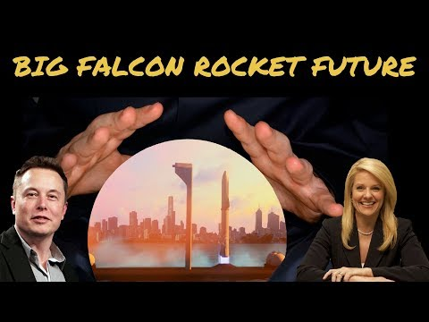 Will SpaceX compete for government funding for the Big Falcon Rocket, BFR?