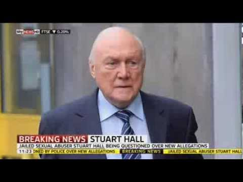 Stuart Hall Questioned Over New Allegations