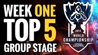Worlds Top 5 - Week 1 Group Stage - League of Legends