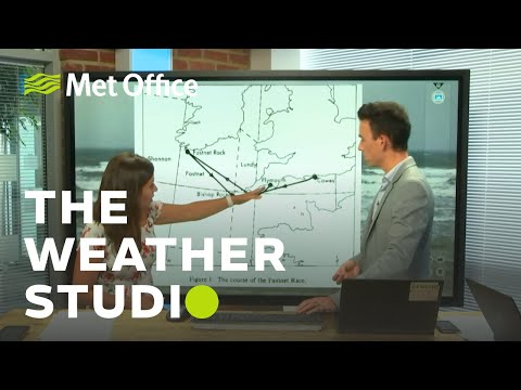 Autumnal August, Fastnet storm, climate report – The Weather Studio Live 13/08/19