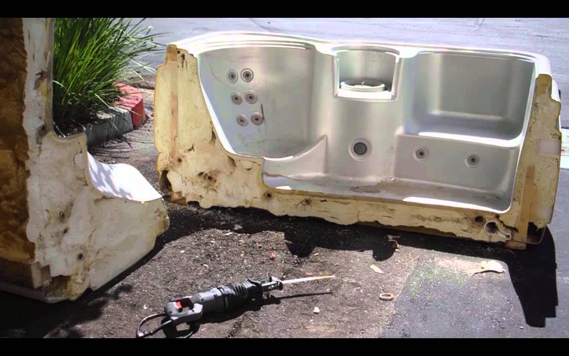 how to fix a sagging hot tub cover