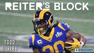 Todd Gurley gives update on injured knee, aftermath of Rams' Super Bowl loss | Reiter's Block