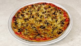 Вкусная пицца с грибами.(Как приготовить пиццу с грибами дома? Посмотрев это видео вы получите ответы на все вопросы. Заработать..., 2015-05-09T15:46:42.000Z)