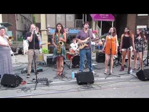 The Beaches Jazzfest 2016- The Funny Funk Band
