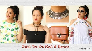 Zaful Try On Haul & Review | Online Shopping Haul | Perkymegs
