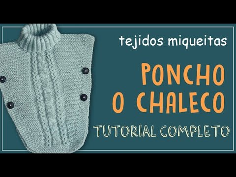 Poncho para niña (Subtitles) - YouTube