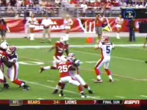 Trent Edwards gets hit by Adrian Wilson(2)