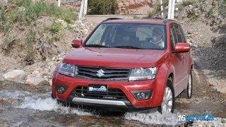 Prueba Nueva Suzuki Grand Vitara AT(Probamos por caminos de Mendoza la Nueva Suzuki Grand Vitara, amplia más en detalle nuestro test en www.16Valvulas.com.ar., 2014-04-16T00:57:37.000Z)