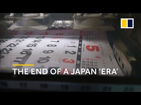 Japanese Emperor Akihito's exit resets calendar