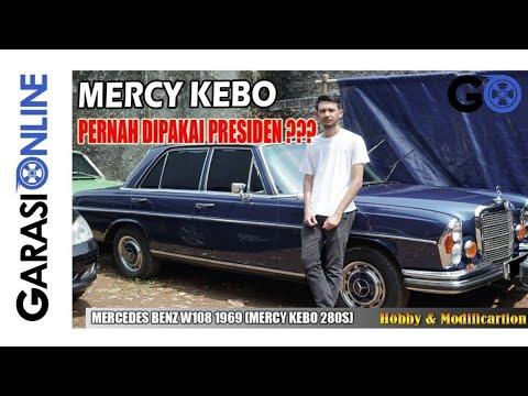 Mercedes Benz W108 1969 Mercy Kebo 280s 7 Hobby Modification Youtube