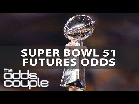 NFL Picks   Odds Couple   Super Bowl 51 Futures Odds At The Start Of The Playoffs