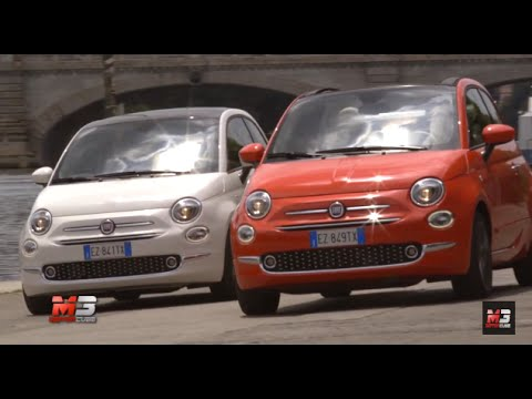 nuova fiat 500 2015 premi re and first test drive youtube. Black Bedroom Furniture Sets. Home Design Ideas