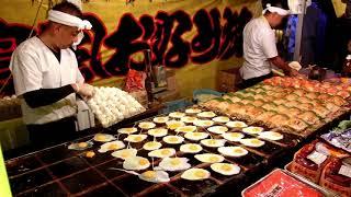 その場でファンが出来るお好み焼き屋さん 2017 職人芸 Street Food Japan Okonomiyaki thumbnail