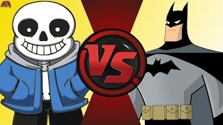 SANS vs BATMAN! (Undertale vs DC Comics) Comic-Fight Club-Bonus-Episode 4