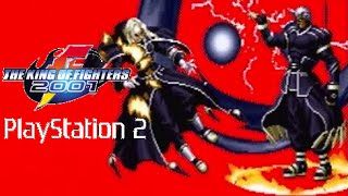 The King of Fighters 2001 playthrough (PS2)