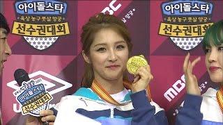 【TVPP】4MINUTE - W Archery Final, 포미닛 - 여자 양궁 단체 결승 @ 2...