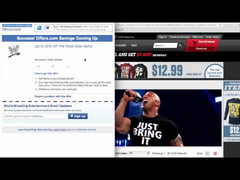 WWE Coupon Code - How To Use Promo Codes And Coupons For Shop.WWE.com